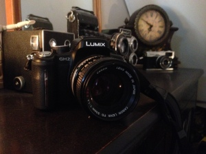 Panasonic GH2 with Canon FD 1.4